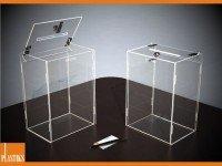 Scatole Trasparenti Cubo Plexiglass Teche In Plastica Box In